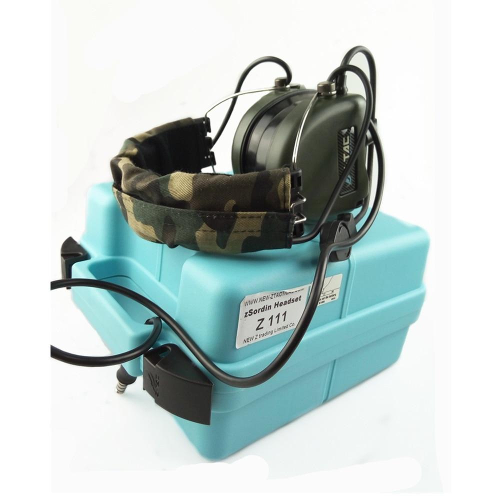 Z Tactical Military Headset Hoofdtelefoon Airsoft Radio Comtac IPSC - Jacht - Foto 4