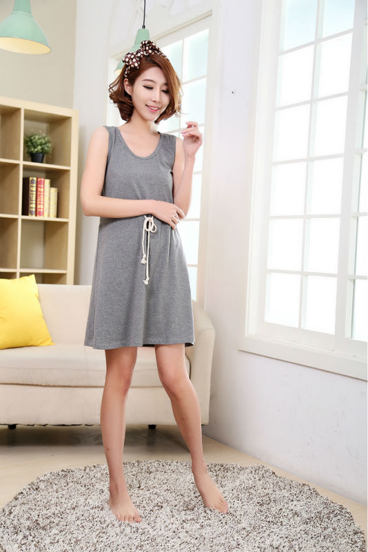 2018 New  summer style Nightgown Nightdress pijama Ladies Sleepwear Women nightwear AZ458