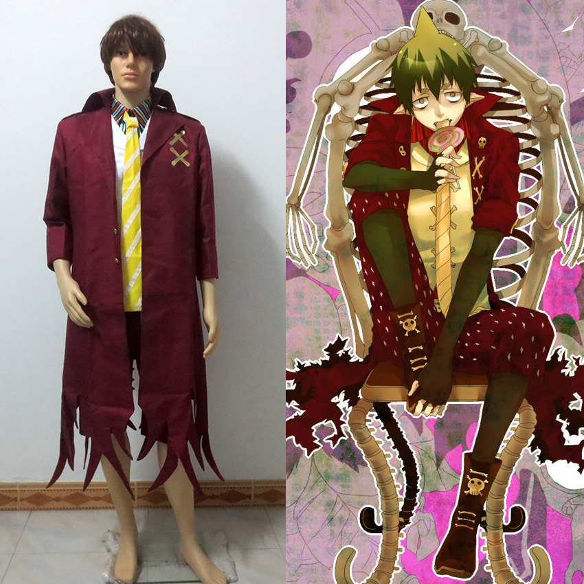 Ao No Blue Exorcist Amaimon Earth King Cosplay Costume