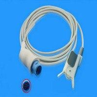 Бесплатная доставка совместимый для NIHON KOHDEN LifeScope10pin педиатрический Fingerclip SPo2 датчик Spo2 зонд-Монитор датчик кислорода