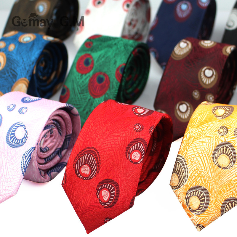 New Fashion Ties For Men Casual Polyester Mens Necktie designer Suits Slim Neckties for Party Adult Red Narrow Neck Tie
