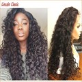 NEW Beautiful Natural Hair Glueless Lace Front Curly Wigs Virgin Brazilian Curly Lace Wig Kinky Curly Lace Front Wig Human Hair