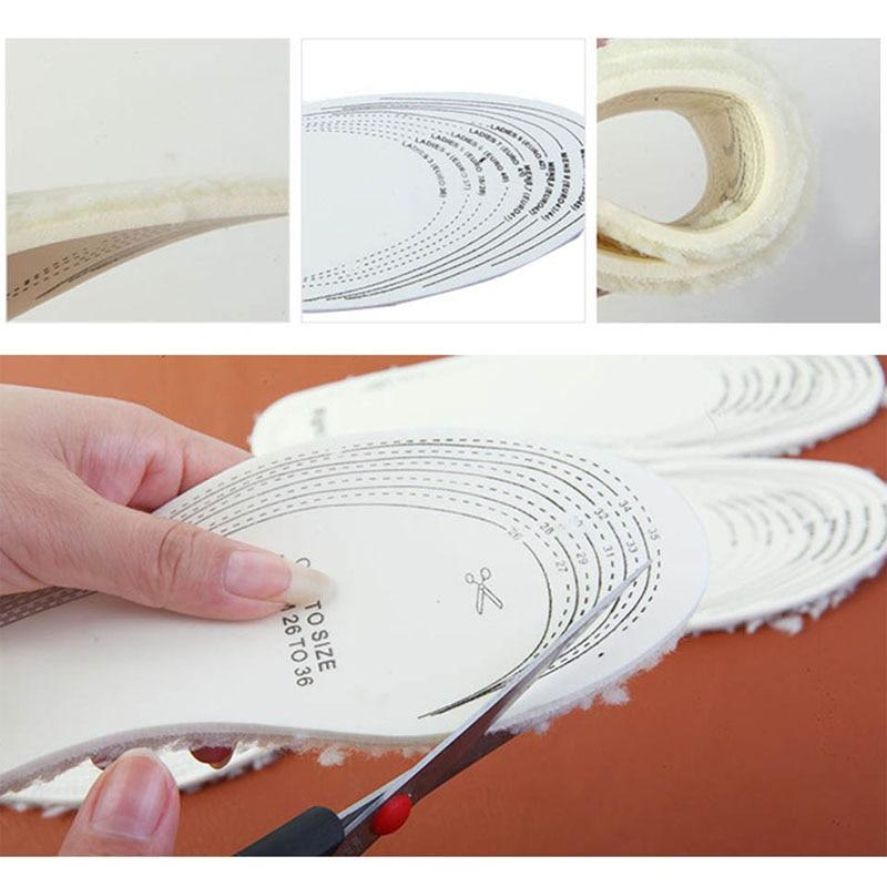 NANCY TINO Unisex Invierno cálido plantillas térmica Shearling Snow - Accesorios de calzado - foto 2