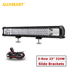 Buy   Auxmart 23 324W 3-Row Led Lig  online