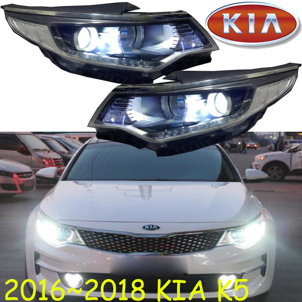 2011~2018,K5 headlight,Free ship!KlA K5 daytime light,Sportage,soul,spectora,k5,sorento,kx5,ceed,K5 head light free shipping k5 metal shell