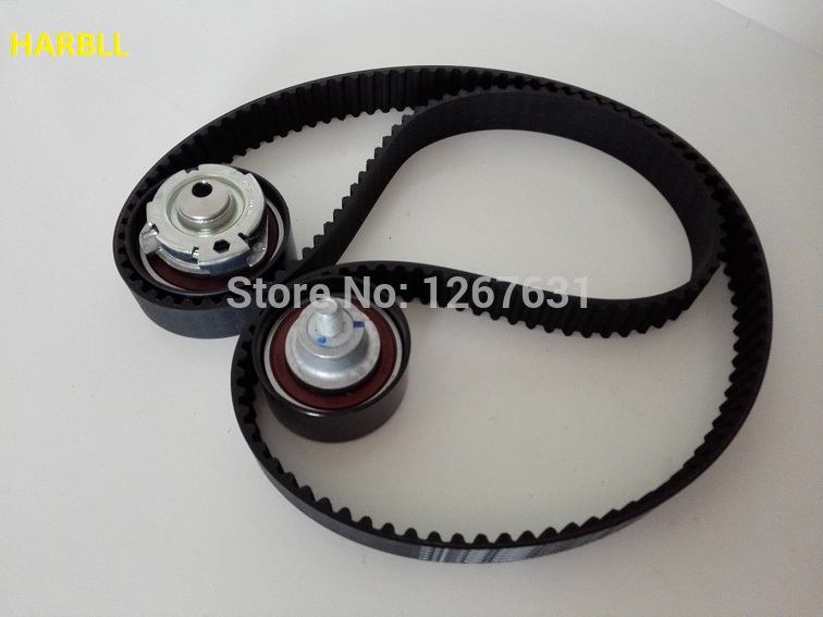 цена на HARBLL For Chery Karry Chery A1 QQ6 Riich Engine 473 Model Timming Kit Engine Timing Belt Tensioner Kit
