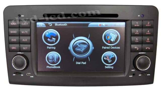 Benz Mercedes ML W164 GL X164 Car DVD GPS Navigation radio head units TV Ipod BT