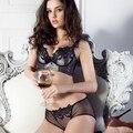 Frete grátis Kei ms pequeno peito profundo V sutiã de renda lingerie de luxo palácio juntos DiaoZhengXing lado conjunto de sutiã