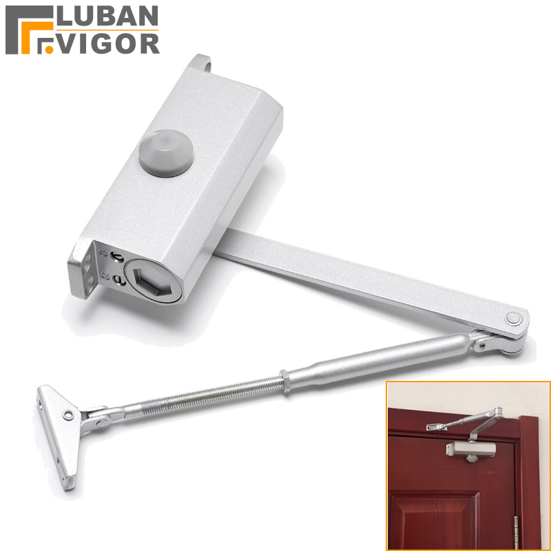 Hydraulic Buffer Door Closer,For 25kg-45kg door , Home trumpet Automatic door closet 90 degrees positioning, Door Hardware