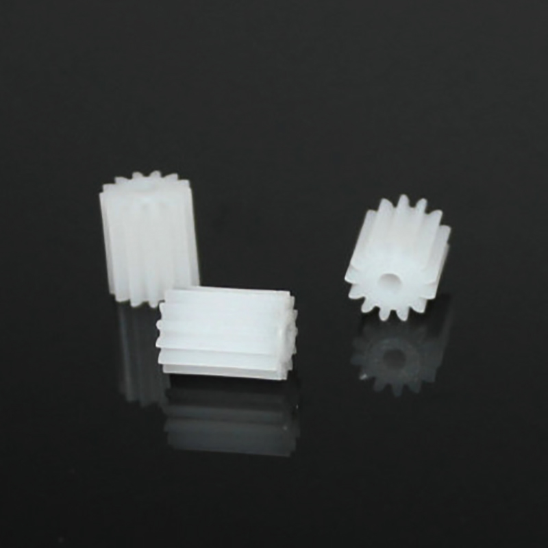 10pcs 13T 10mm length/2mm hole/OD 7.5/plastic motor gear/rc car/hot wheel/DIY toys accessories/technology model parts/baby toys/