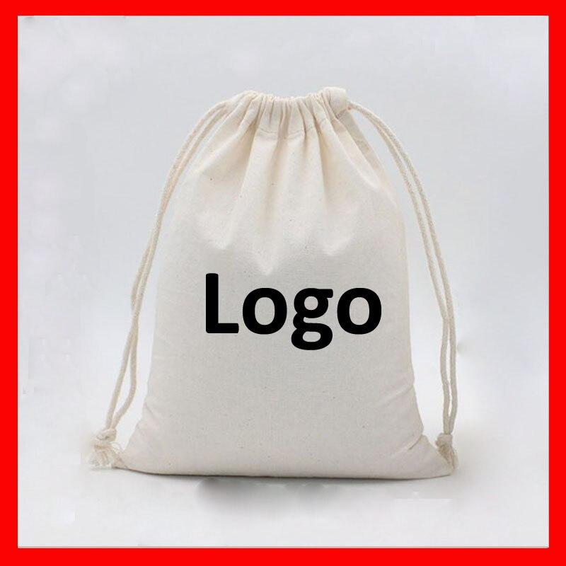 Éco Sac Gros Personnalisé Taille Logo Coton Bag 4x6 With Plaine En Cm lot 100 bag Blank