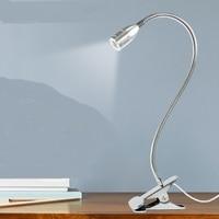 A1 50CM Enrichment LED clip light lamp and desk lamp desk book clip nursing students work eye reading lamp bedside lamp