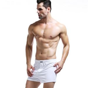 Image 4 - Người đàn ông của Võ Sĩ Cotton Mens Đồ Lót 4 cái/lốc Rắn Homme Quần Lót Võ Sĩ Quyền Anh với Dây Thắt Lưng Đàn Hồi Quần Short Lỏng người đàn ông L XL XXL XXXL
