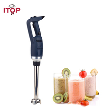 ITOP 350W Variable Speed Handheld Immersion Blender 4000~16000RPM Food Mixer Commercial Smoothie Fruit Jam Juicer