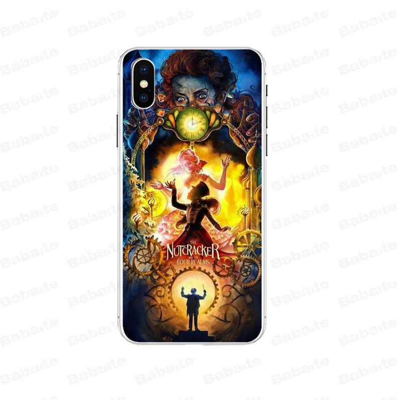 Babaite Nutcracker 4 kingdoms DIY Protector สำหรับ Apple iPhone 7 6 6S Plus X XS สูงสุด 8 5 5S SE XR โทรศัพท์มือถือ