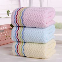 Vieruodis 100% Cotton Bath Towel Absorbent Soft Bathroom Towel Travel Fabric Quick-Drying Outdoor Sports Swimming Towels