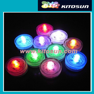 10 pcs LED Submersible Waterproof Floralyte Candle Tea Light For Wedding Party Events Holidays Decoration