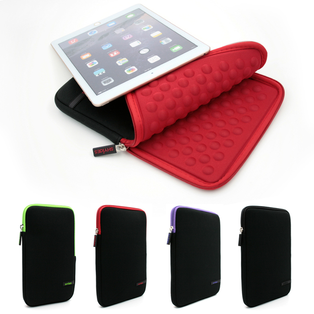 2017 Shockproof Tablet Liner Sleeve Bag for Apple iPad Mini 1/2/3/4 Cover Case for iPad 234 iPad Air 2 Air 1 Pro 9.7 +Stylus Pen