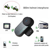 Freedconn TCOM-VB Motorrad Helm Intercom Wireless Bluetooth Moto Intercomunicador Headset Capacete Motocross Sprech