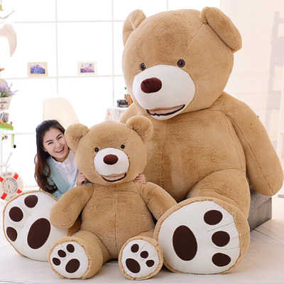1 PC The Giant Teddy Bear Plush Toy Stuffed Animal High Quality kids Toys Birthday Gift Valentine's Day Gifts for women