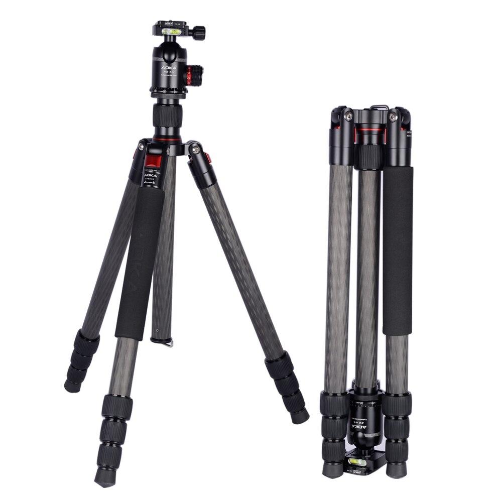 AOKA KT324C Reflexed tripé heavy duty grande 22kgs capacidade de carregamento portátil profissional tripé de câmera