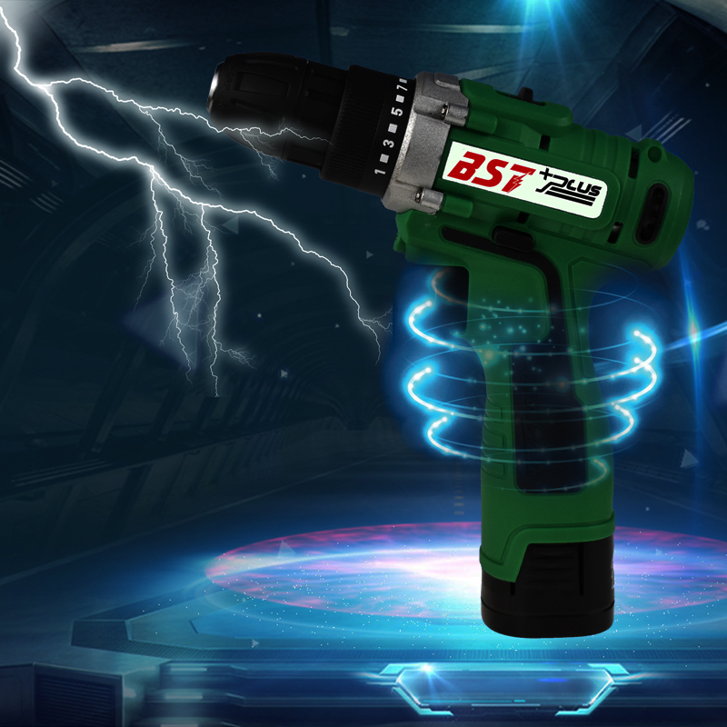 Купить с кэшбэком 18V Lithium-ion Battery Cordless Electric Hand Drill Hole  Screwdriver Wrench Power Tools