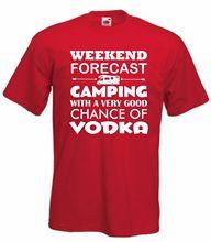 Motorhome Vodka T-Shirt Funny  Weekend T Shirt Alcohol S-XXXL New Shirts Tops Tee Unisex free shipping
