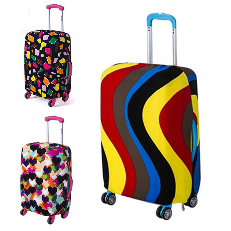 Elasticity Travel Luggage Protective Cover For 18-30 Inch Suitcase Cover Cover High Quality Trolley Case Cover Travel Accessory