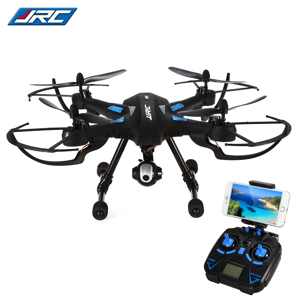 Original JJRC H26WH Wifi FPV RC Quadcopter With 0.3MP Gimbal Camera 2.4G 4CH 6-Axis Selfie Barometer Height Hold RC Drone RTF original jjrc h28 4ch 6 axis gyro removable arms rtf rc quadcopter with one key return headless mode drone