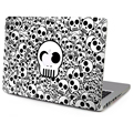 For Apple Macbook Decal Sticker  Air Pro with or without Retina display Cartoon Skull Skin Laptop Cover