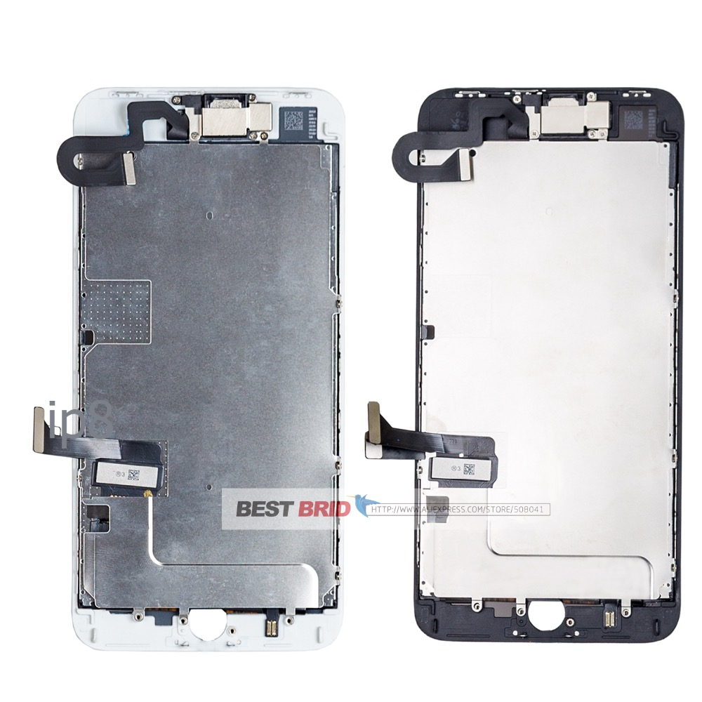 1Pcs/lot  For iPhone 8 plus 5.5  Lcd  Display Completed Full Set Digitizer Assembly Touch Screen +Front Camera+Earpiece Speaker-in Mobile Phone LCD Screens from Cellphones & Telecommunications    2