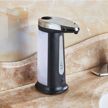 Hot Sale 400Ml Electroplated Automatic Liquid Soap Dispenser Smart Sensor Touchless Sanitizer