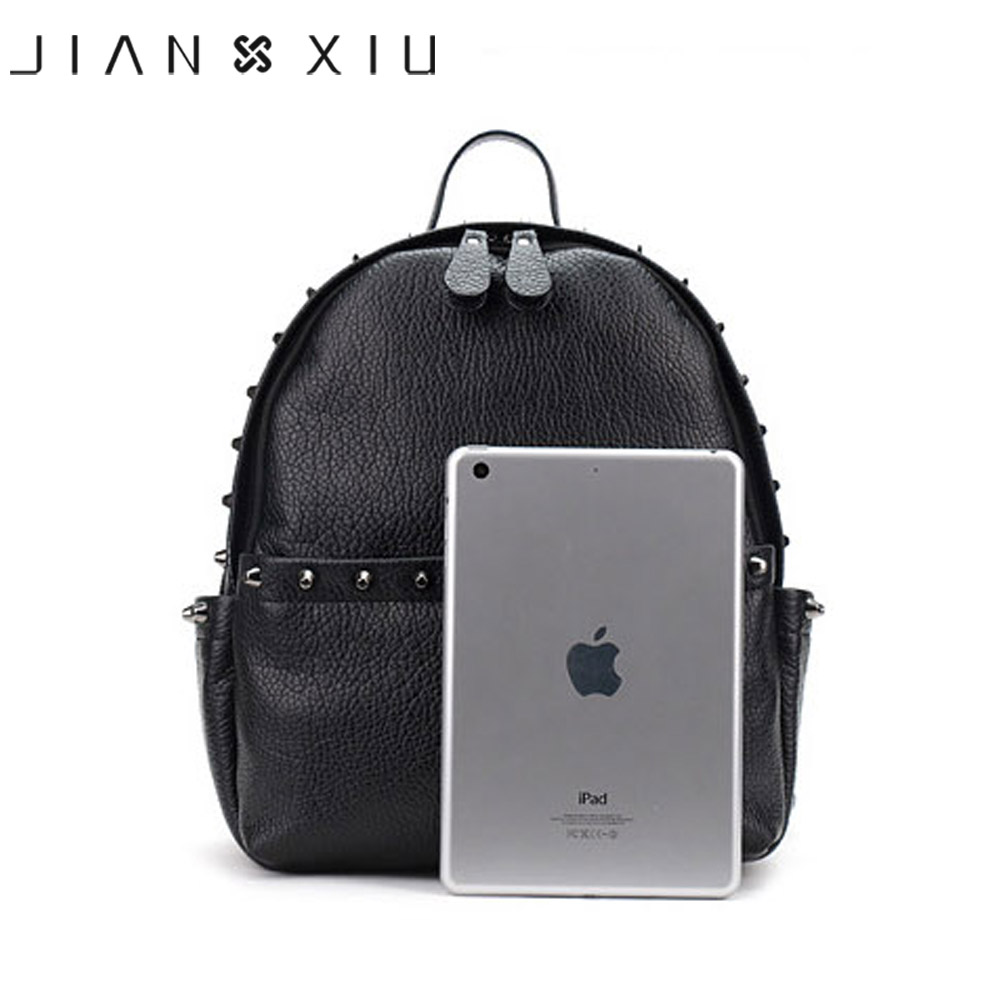 Jianxiu Brand Women Backpack Pu Leather School Bags Mochilas Mochila Feminina Bolsas Mujer Backpacks Rugzak Back Pack Bag 2018 #4