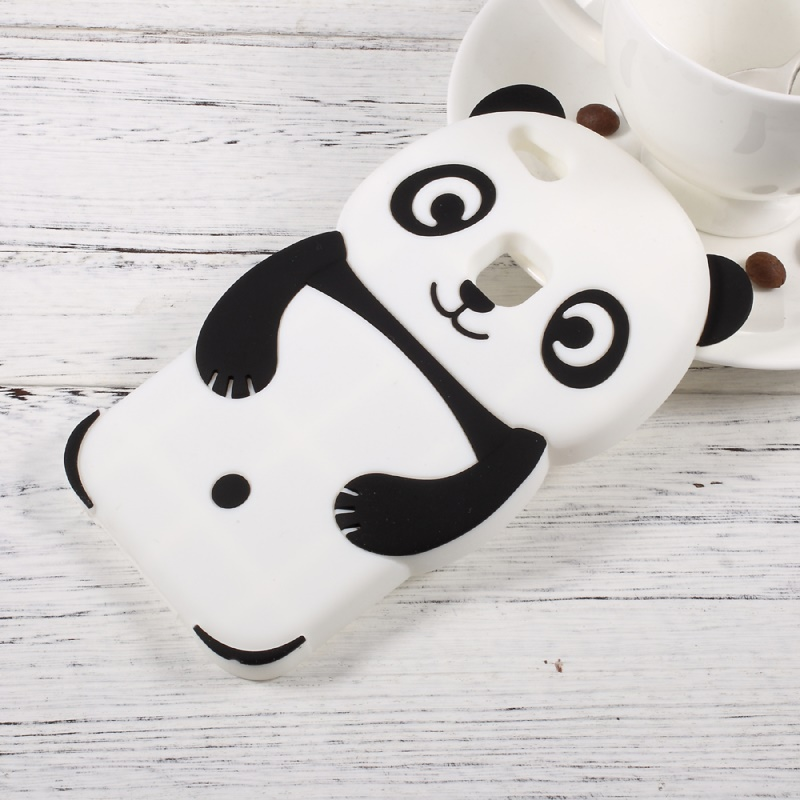 Para huawei p10 lite lindo 3d panda de silicona accesorio del teléfono case para