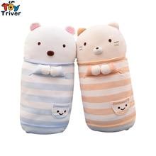 1pc Japanese Animation Sumikko Gurashi Doll Cats Bear San-X Corner Bio Pillow Cartoon Plush Toy Baby Kids Birthday Gift Triver
