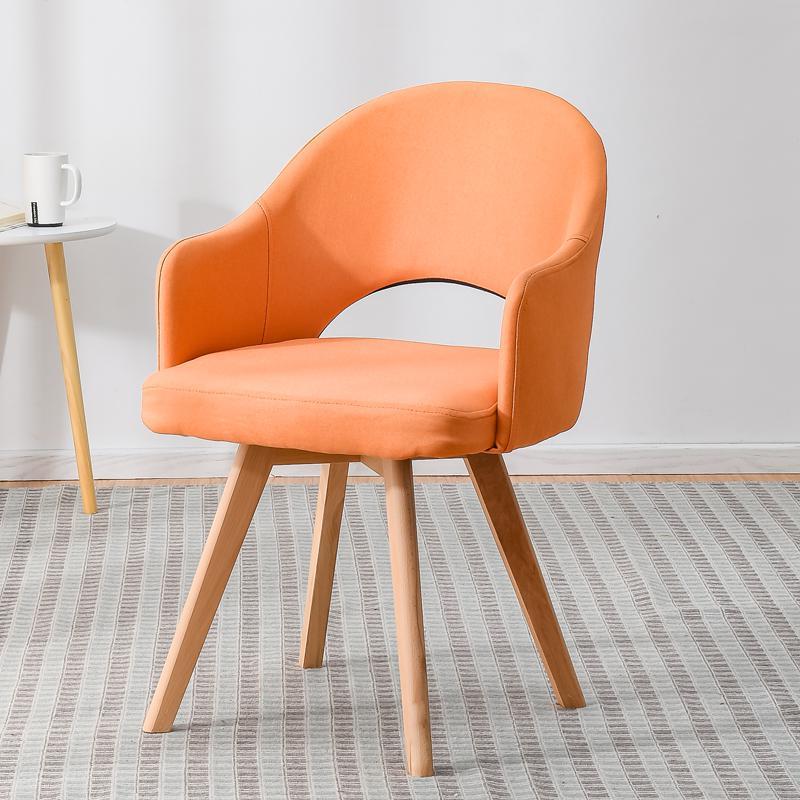 Современный простой стул для ленивых в скандинавском стиле, деревянный стул для ресторана, стул для обучения, простой стол и стул - Цвет: style 12