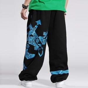 Image 2 - 2020 แฟชั่นบุรุษJoggersพิมพ์DesignerชายBaggy Hip Hop JoggerกางเกงเปิดAir SweatpantsกางเกงPantalon Homme B85