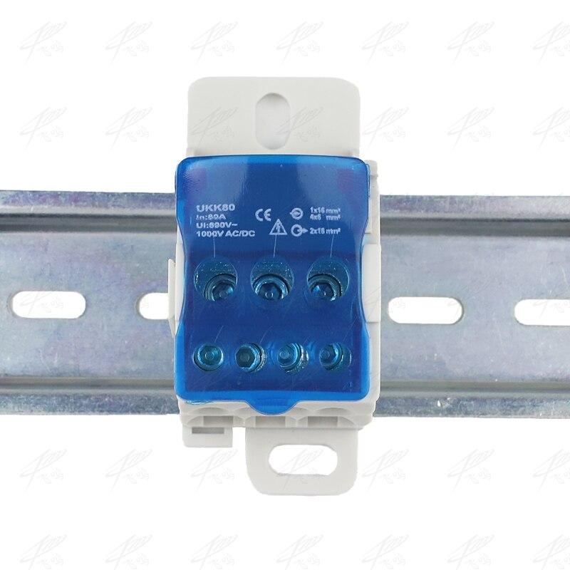 Terminal Block Din Rail Distribution Box Universal Electric Wire Connector Box