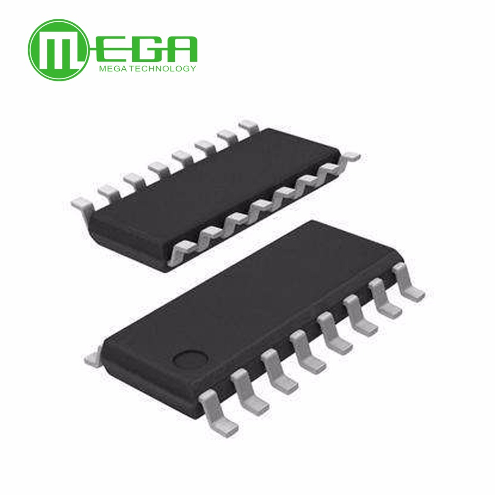 10pcs 74hc595d 74hc595 Hc595 Sop 16 8 Bit Serial In Or Shift Register Breadboard Circuit Parallel Out With Output Latches Integrated Circuits From Electronic