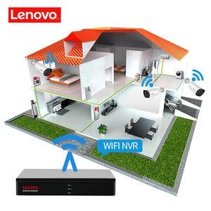 Image 4 - LENOVO 4CH 1080P POE NVR Kit 2.0MP HD CCTV Security camera System Audio monitor IP Camera P2P Outdoor Video Surveillance System