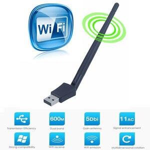Image 4 - المزدوج الفرقة 600 Mbps 5 Ghz 2.4 Ghz USB واي فاي هوائي دونجل اللاسلكية LAN محول 802.11ac/a/b /g/n5/2.4 Ghz ل ويندوز سطح المكتب/كمبيوتر محمول