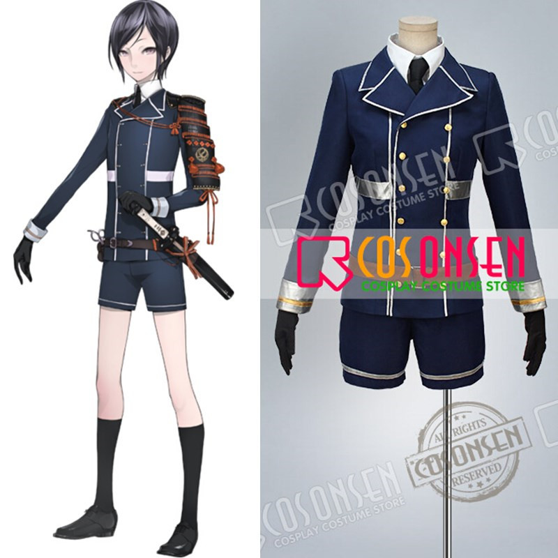 COSPLAYONSEN Touken Ranbu Yagen Toushirou Cosplay Costume All Size Custom Made