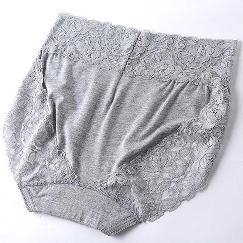 Baru Wanita Celana Pakaian Dalam Seksi Ropa Interior Femenina Renda Plus Ukuran 7XL Modal Lembut Pakaian Dalam Wanita Celana Dalam Wanita