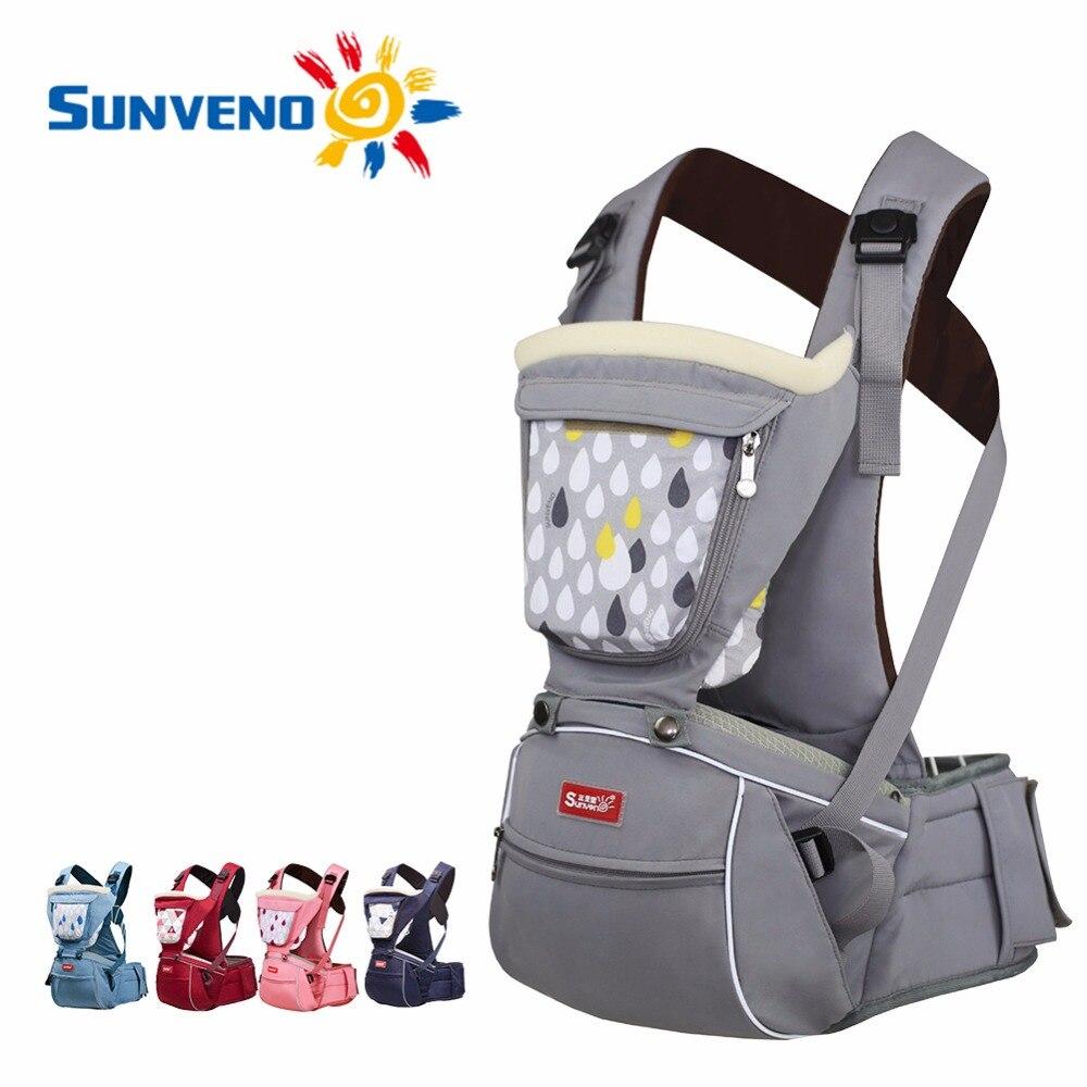 Infant Carrier Seat >> SUNVENO Designer Baby Carrier Infant Toddler Front Facing Carrier Sling Kids Kangaroo Hipseat ...