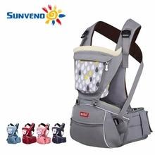 SUNVENO Designer Baby Carrier Infant Toddler Front Facing Carrier Sling Kids Kangaroo Hipseat Baby Care 0-36Months