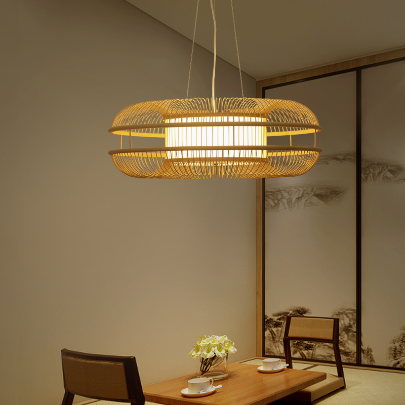 Japanese style Pendant Lights new Chinese style bedroom living room atmosphere lamp round tea zen Restaurant fashio ZA627 ZL126 chinese style iron lantern pendant lamps living room lamp tea room art dining lamp lanterns pendant lights za6284 zl36 ym
