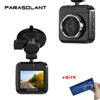 PARASOLANT 170 Degree Wide Angle Driving Recorder Car DVR Night Vision Mini Camcorders Camera Video Dash