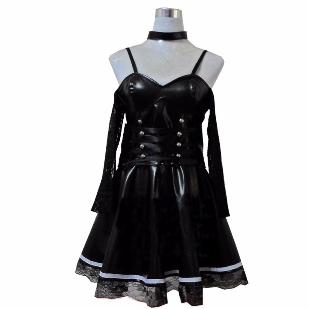 2018 Death Note Misa Amane Imitation Leather Sexy Tube -2227