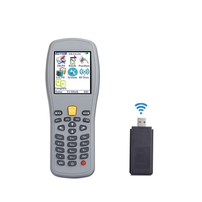 Techlogic X5 Portable Barkod skaneri Simsiz ştrix kod Silahlı Əl - Ofis elektronikası - Fotoqrafiya 4