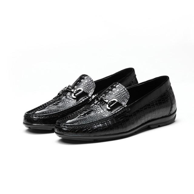 2016 новых мужских плоские высокое качество натуральная кожа обувь для вождения для офиса мужчин карьеры обувь из натуральной кожи бизнес обувь QD05-1